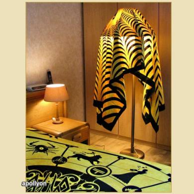 Batik Decoratie Laken Psychedelisch