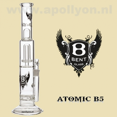 Bent Atomic Percolator