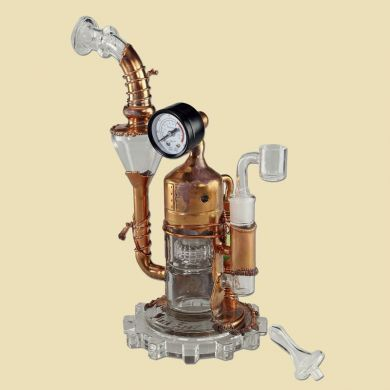Black leaf Galileo's SteamOmeter Olie Bong