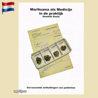 Book Marihuana Als Medicijn In De Praktijk