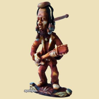 Brazil Pijp Ganja Guitar