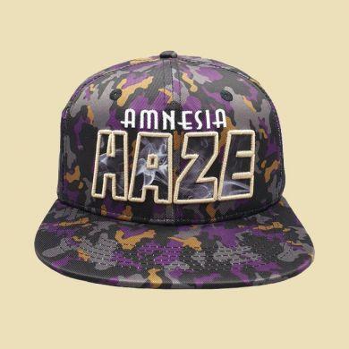 Cap Amnesia Haze 420 Purple Camo