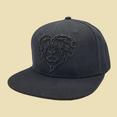 Cap Lion Black