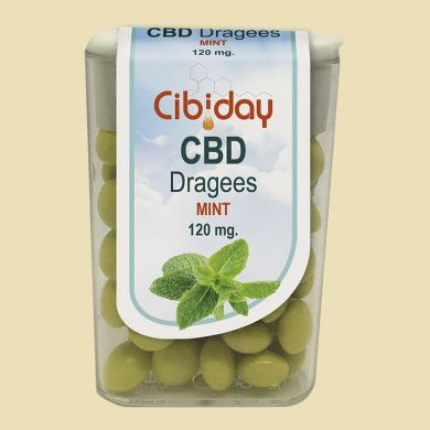 CBD Dragees Mint