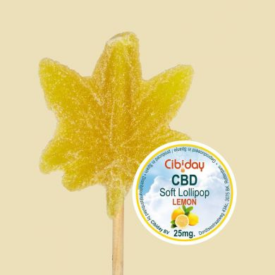 CBD Lollipop Groot Yellow