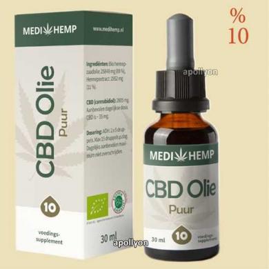 CBD Olie Biologisch MediHemp