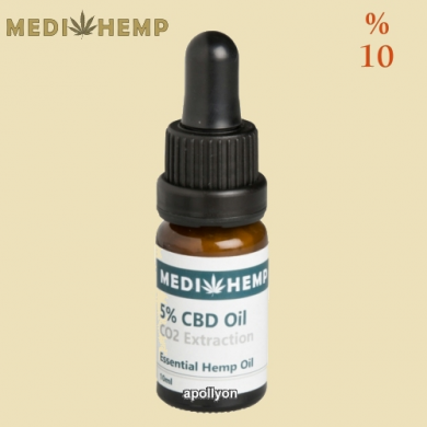 CBD Olie Raw MediHemp