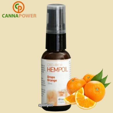CBD Spray Sinaasappel