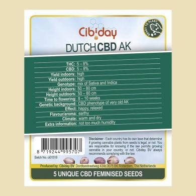 Dutch CBD AK Feminised