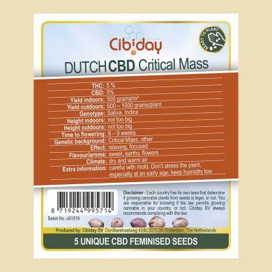 Dutch CBD Critical Mass