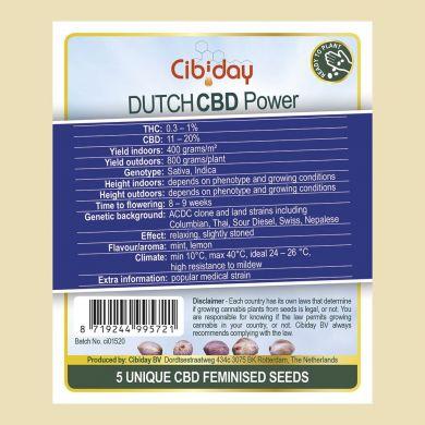 Dutch CBD Power