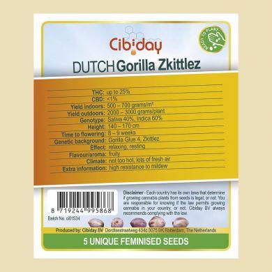 Dutch Gorilla Skittles