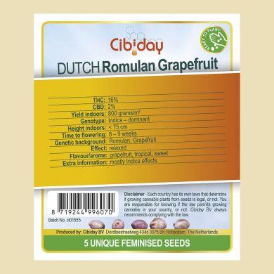 Dutch Grapefruit Romulan