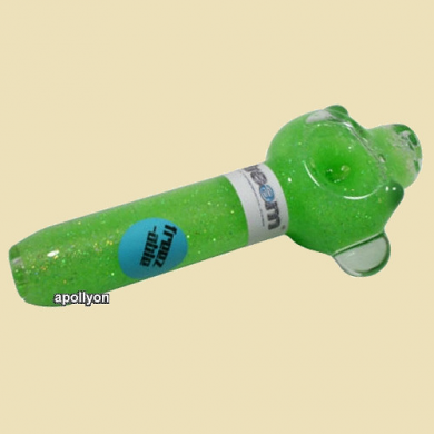 Glitter Pipe Green Steam
