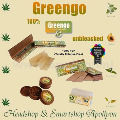 Greengo ongebleekt Roll slim 44 mm vloei
