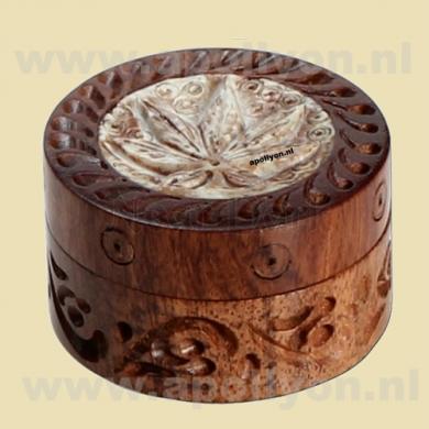 Grinder Mini Rosewood Weed Cream