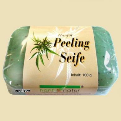 Hennep Olie Peeling Zeep