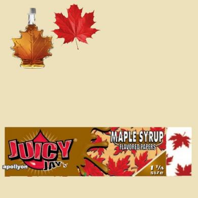 Juicy Jay's 1 1/4 Esdoorn Siroop Smaakvloei