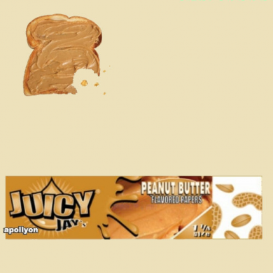 Juicy Jay's 1 1/4 Pindakaas Smaakvloei