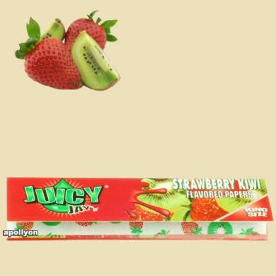 Juicy Jay's Aardbei/Kiwi Kingsize Smaakvloei