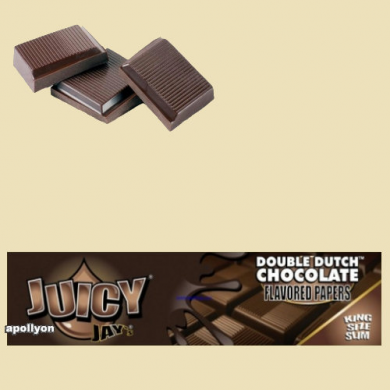 Juicy Jay's Double Dutch Chocola Kingsize Smaakvloei