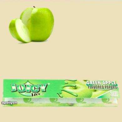 Juicy Jay's Groene Appel Kingsize Smaakvloei