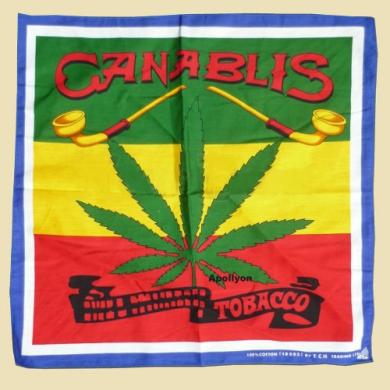 Marijuana Bandana Canablis