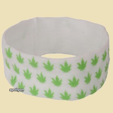 Marijuana Head Sweatband