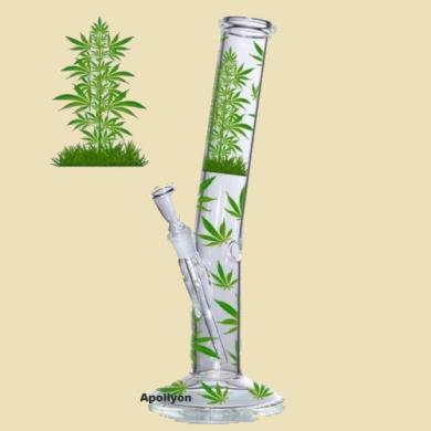 Marihuana Leaf Jhari Bong