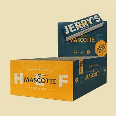 Mascotte Jerry's By Hef Doos 25x lange vloei en filtertips