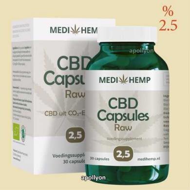 Medihemp Capsules CBD