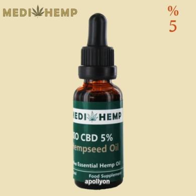 MediHemp CBD Olie Biologisch