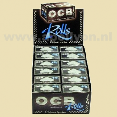 OCB Box King Size Papers Roll