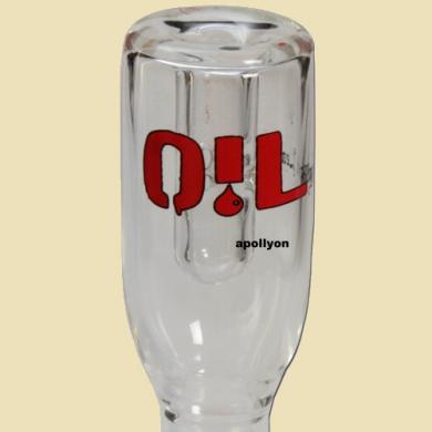 Oil Black Leaf Concentrate Glass ?l Kopf