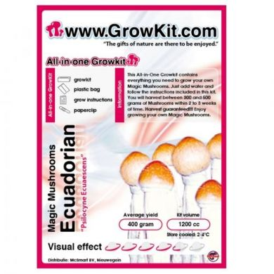 Magic Mushroom Growkit Ecuadorian, All In One