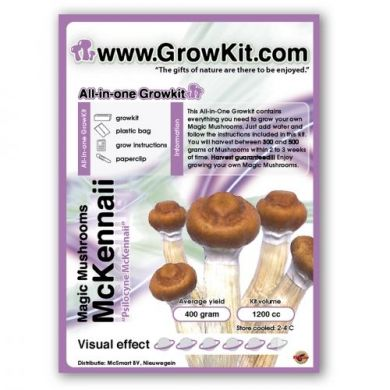 Magic Mushroom Growkit McKennaii, All In One
