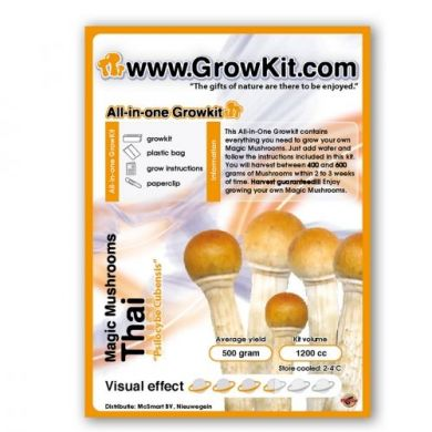 Magic Mushroom Growkit Thai, All in One