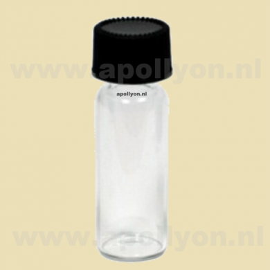 Bottle Glass Large Clear