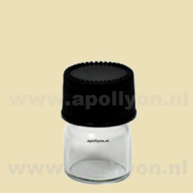 Bottle Glass Mini Clear