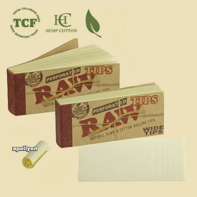 Raw Perforated Filtertips