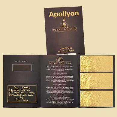 Royal Rolling aka Apollyon Triple 24k Vloei