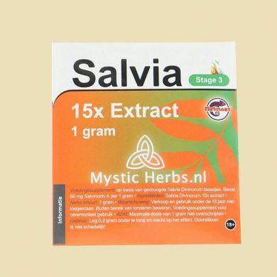 Salvia Extract 15x 1gr
