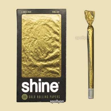 Gold Paper Shine 24k Big