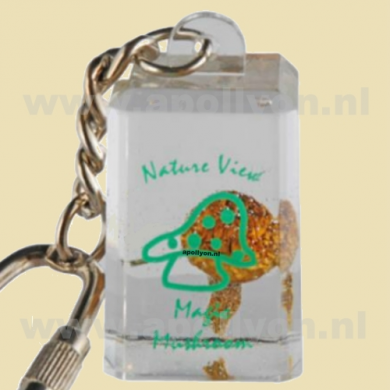 Keychain Acrylic Magic Mushroom