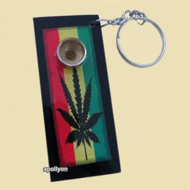 Key Weed Pipe Rasta