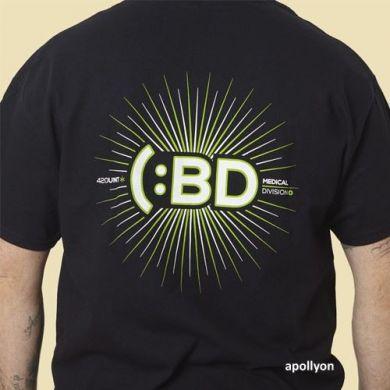 T-shirt CBD Medical