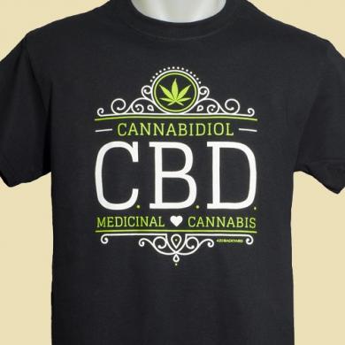 T-shirt CBD Medical Cannabis 420Backyard