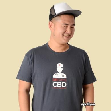 T-shirt DR Says CBD  420unit