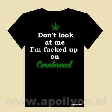 THC Shirt Cornbread Zwart