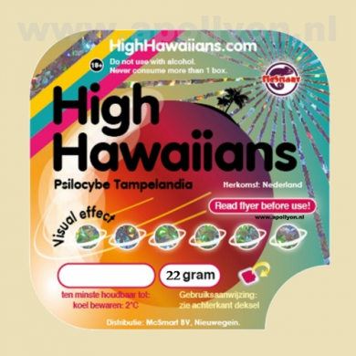 Truffel High Hawaiians 22gr